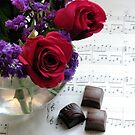 Chocolate,Music,Roses....... by AngieDavies