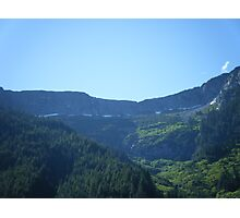vally of mountians mountian Photographic Print