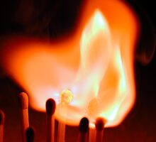 Lighting Matches 02 by Graham Taylor