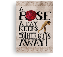 A Rose A Day Canvas Print