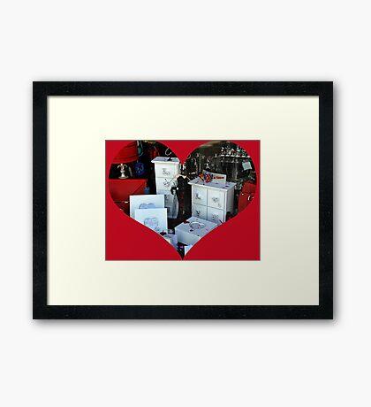 Valentine Gifts........ Framed Print