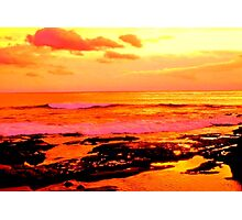 La Jolla Sunset Photographic Print