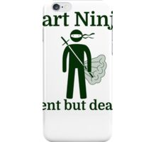 FART NINJA iPhone Case/Skin