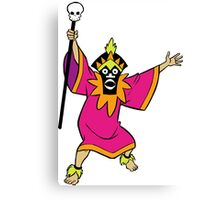 Scooby Doo Witch Doctor Villain Canvas Print