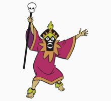 Scooby Doo Witch Doctor Villain by Cinemadelic