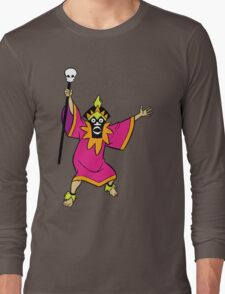 Scooby Doo Witch Doctor Villain Long Sleeve T-Shirt