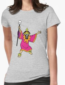 Scooby Doo Witch Doctor Villain Womens Fitted T-Shirt
