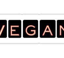 Vegan Serial  Sticker