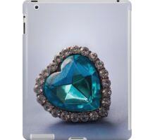 Blue heart iPad Case/Skin