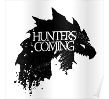 Hunters are coming Poster