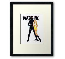 Danger Diabolik Framed Print
