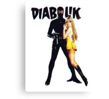 Danger Diabolik Canvas Print
