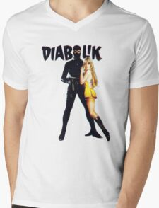 Danger Diabolik Mens V-Neck T-Shirt