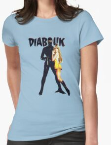Danger Diabolik Womens Fitted T-Shirt