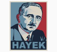 Friedrich Hayek by rightposters