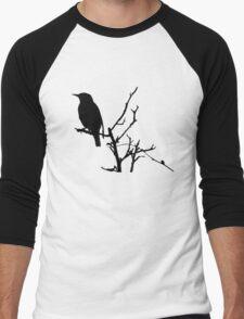 Little Birdy - Black Men's Baseball ¾ T-Shirt