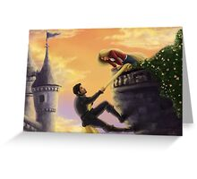 Climbing More Walls Greeting Card