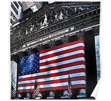 Wall St. New York City, USA Poster