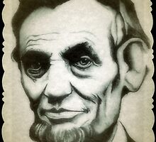 Abraham Lincoln drawing by RobCrandall