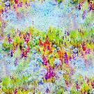 Aster Season Duvet Design by Regina Valluzzi