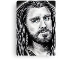 Richard Armitage as THORIN Canvas Print