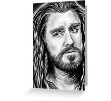 Richard Armitage as THORIN Greeting Card