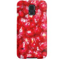 Pomegranate ruby-red jewel-like seeds Samsung Galaxy Case/Skin