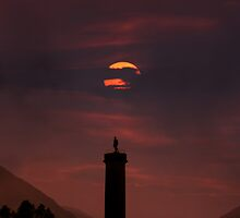 Glenfinnan Monument by Andreas Stridsberg