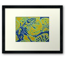 Ocean Abundance Framed Print