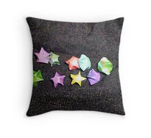 Pencilled Stars Throw Pillow