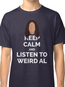 Keep Calm Weird Al Classic T-Shirt