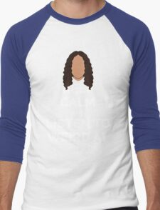 Keep Calm Weird Al Men's Baseball ¾ T-Shirt