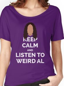Keep Calm Weird Al Women's Relaxed Fit T-Shirt