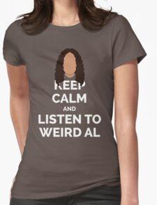 Keep Calm Weird Al Womens Fitted T-Shirt
