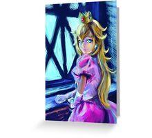 Peach princess Greeting Card