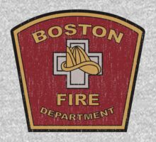Boston Fire Department Kids Clothes