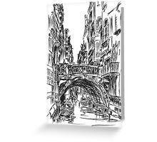 Venice 1 Greeting Card