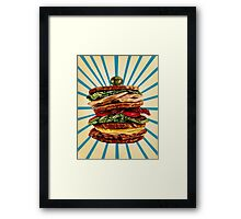Turkey Club on Rye Framed Print