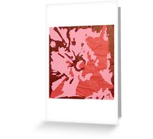 Blooming Passion Greeting Card