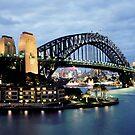 Sydney harbour bridge by bouche
