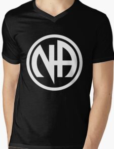 Narcotics Anonymous White Mens V-Neck T-Shirt