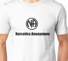 Narcotics Anonymous Small Black Unisex T-Shirt