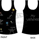 T-shirt design 01 - My universe by Ysyra