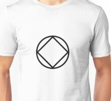 Symbol Black Unisex T-Shirt
