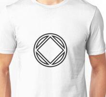 Chunky Symbol Black Unisex T-Shirt