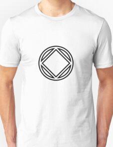 Chunky Symbol Black T-Shirt