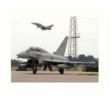 Eurofighter - Typhoon Art Print