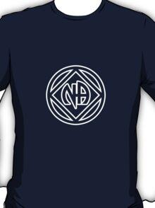 Chunky Symbol and Name White T-Shirt
