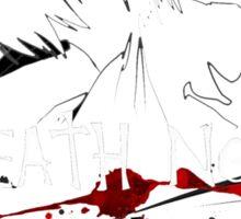 Death Note KIRA vs L Sticker