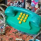 Old School Phone by Misti Rainwater-Lites